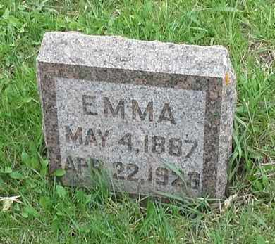RISBACK, EMMA - Grant County, South Dakota | EMMA RISBACK - South Dakota Gravestone Photos