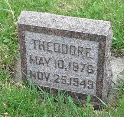 RISBACK, THEODORE - Grant County, South Dakota | THEODORE RISBACK - South Dakota Gravestone Photos