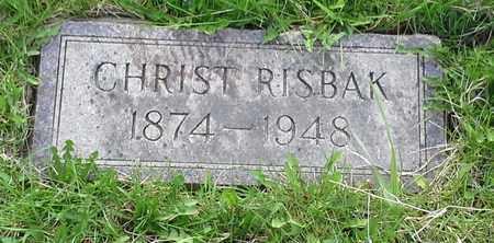 RISBAK, CHRIST - Grant County, South Dakota | CHRIST RISBAK - South Dakota Gravestone Photos