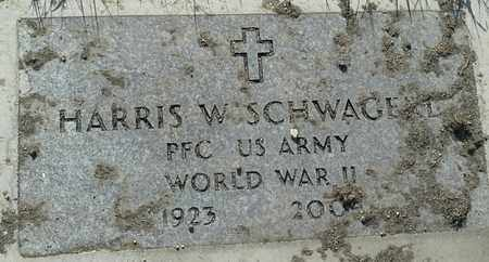 """SCHWAGERL, HARRIS W """"MILITARY"""" - Grant County, South Dakota 