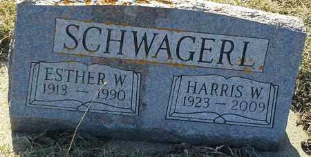 SCHWAGERL, ESTHER W - Grant County, South Dakota   ESTHER W SCHWAGERL - South Dakota Gravestone Photos