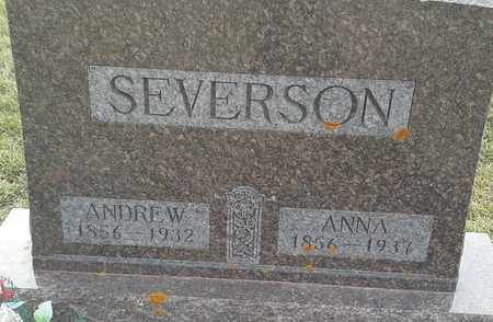SEVERSON, ANDREW - Grant County, South Dakota | ANDREW SEVERSON - South Dakota Gravestone Photos