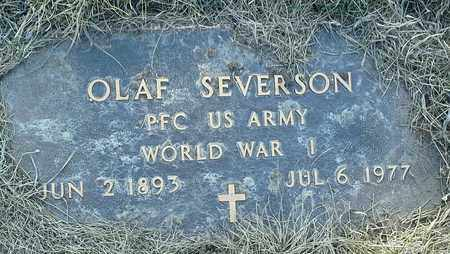 "SEVERSON, OLAF ""MILITARY"" - Grant County, South Dakota 