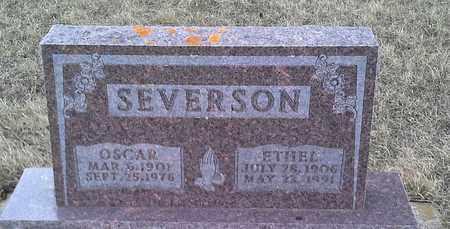 SEVERSON, ETHEL - Grant County, South Dakota | ETHEL SEVERSON - South Dakota Gravestone Photos