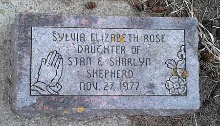 SHEPHERD, SYLVIA ELIZBETH ROSE - Grant County, South Dakota   SYLVIA ELIZBETH ROSE SHEPHERD - South Dakota Gravestone Photos