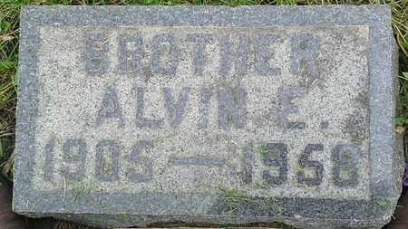 SOLBEG, ALVIN E - Grant County, South Dakota   ALVIN E SOLBEG - South Dakota Gravestone Photos