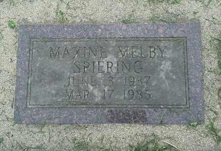 SPIERING, MAXINE - Grant County, South Dakota | MAXINE SPIERING - South Dakota Gravestone Photos