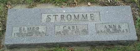 STROMME, ELMER - Grant County, South Dakota | ELMER STROMME - South Dakota Gravestone Photos