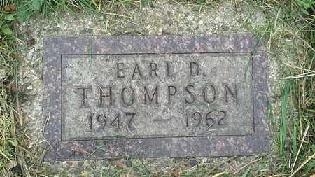 THOMPSON, EARL. D - Grant County, South Dakota | EARL. D THOMPSON - South Dakota Gravestone Photos