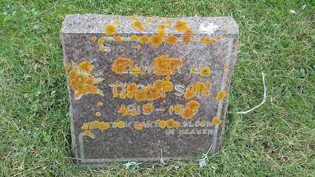 THOMPSON, ELMER - Grant County, South Dakota   ELMER THOMPSON - South Dakota Gravestone Photos
