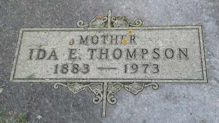 THOMPSON, IDA E - Grant County, South Dakota | IDA E THOMPSON - South Dakota Gravestone Photos