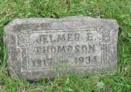 THOMPSON, JELMER E - Grant County, South Dakota | JELMER E THOMPSON - South Dakota Gravestone Photos