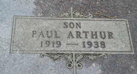 THOMPSON, PAUL ARTHUR - Grant County, South Dakota | PAUL ARTHUR THOMPSON - South Dakota Gravestone Photos