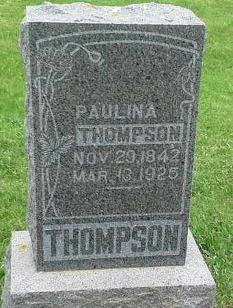 THOMPSON, PAULINA - Grant County, South Dakota | PAULINA THOMPSON - South Dakota Gravestone Photos