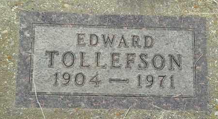 TOLLEFSON, EDWARD - Grant County, South Dakota | EDWARD TOLLEFSON - South Dakota Gravestone Photos
