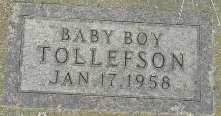 TOLLEFSON, INFANT - Grant County, South Dakota | INFANT TOLLEFSON - South Dakota Gravestone Photos