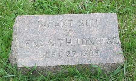 TONSTAD, INFANT - Grant County, South Dakota   INFANT TONSTAD - South Dakota Gravestone Photos