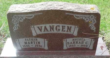 VANGEN, HANNAH C - Grant County, South Dakota | HANNAH C VANGEN - South Dakota Gravestone Photos