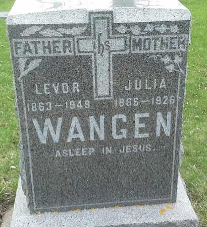 WANGEN, JULIA - Grant County, South Dakota | JULIA WANGEN - South Dakota Gravestone Photos