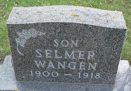 WANGEN, SELMER - Grant County, South Dakota | SELMER WANGEN - South Dakota Gravestone Photos
