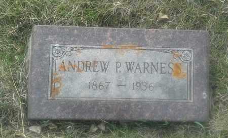 WARNESS, ANDREW P - Grant County, South Dakota   ANDREW P WARNESS - South Dakota Gravestone Photos