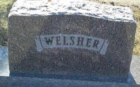 WELSHER, FAMILY STONE - Grant County, South Dakota | FAMILY STONE WELSHER - South Dakota Gravestone Photos