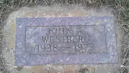 WESTBERG, JOHN A - Grant County, South Dakota | JOHN A WESTBERG - South Dakota Gravestone Photos