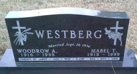 WESTBERG, WOODROW A - Grant County, South Dakota | WOODROW A WESTBERG - South Dakota Gravestone Photos