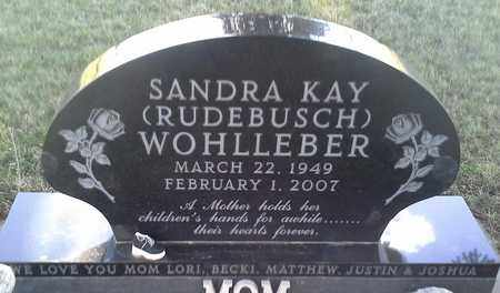 RUDEBUSCH WOHLLEBER, SANDRA KAY - Grant County, South Dakota | SANDRA KAY RUDEBUSCH WOHLLEBER - South Dakota Gravestone Photos