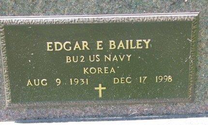 BAILEY, EDGAR E. (MILITARY) - Gregory County, South Dakota | EDGAR E. (MILITARY) BAILEY - South Dakota Gravestone Photos