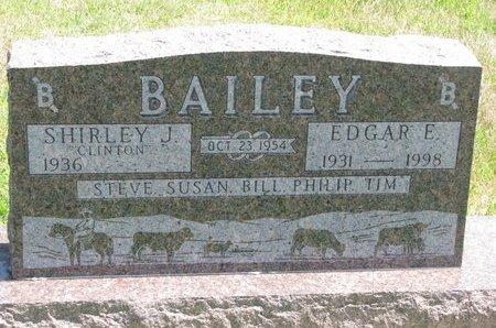 BAILEY, EDGAR E. - Gregory County, South Dakota | EDGAR E. BAILEY - South Dakota Gravestone Photos