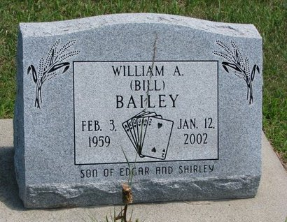 """BAILEY, WILLIAM A. """"BILL"""" - Gregory County, South Dakota 