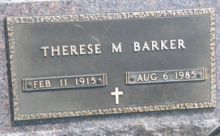 HAUSMANN BARKER, THERESE M. - Gregory County, South Dakota | THERESE M. HAUSMANN BARKER - South Dakota Gravestone Photos