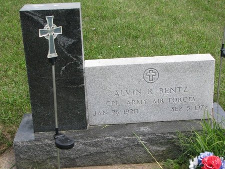 BENTZ, ALVIN R. - Gregory County, South Dakota | ALVIN R. BENTZ - South Dakota Gravestone Photos