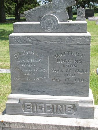 MCGRATH BIGGINS, DEBORAH - Gregory County, South Dakota | DEBORAH MCGRATH BIGGINS - South Dakota Gravestone Photos