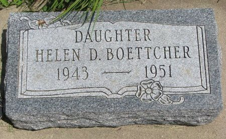 BOETTCHER, HELEN D. - Gregory County, South Dakota | HELEN D. BOETTCHER - South Dakota Gravestone Photos