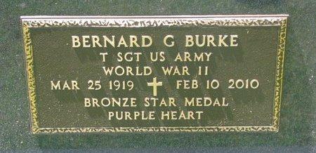 BURKE, BERNARD G. (MILITARY) - Gregory County, South Dakota   BERNARD G. (MILITARY) BURKE - South Dakota Gravestone Photos
