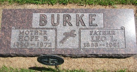 BURKE, LEO L. - Gregory County, South Dakota | LEO L. BURKE - South Dakota Gravestone Photos