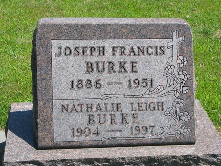 BURKE, JOSEPH FRANCIS - Gregory County, South Dakota | JOSEPH FRANCIS BURKE - South Dakota Gravestone Photos