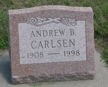 CARLSEN, ANDREW B. - Gregory County, South Dakota | ANDREW B. CARLSEN - South Dakota Gravestone Photos