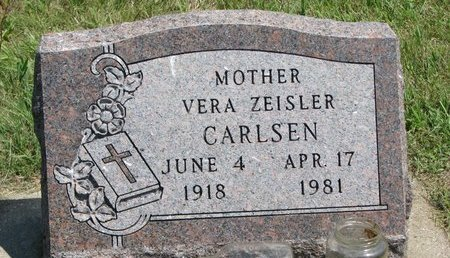ZEISLER CARLSEN, VERA - Gregory County, South Dakota | VERA ZEISLER CARLSEN - South Dakota Gravestone Photos