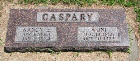 CASPARY, WUNI - Gregory County, South Dakota | WUNI CASPARY - South Dakota Gravestone Photos