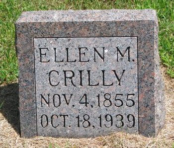 CRILLY, ELLEN M. - Gregory County, South Dakota | ELLEN M. CRILLY - South Dakota Gravestone Photos