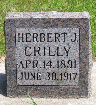 CRILLY, HERBERT J. - Gregory County, South Dakota | HERBERT J. CRILLY - South Dakota Gravestone Photos