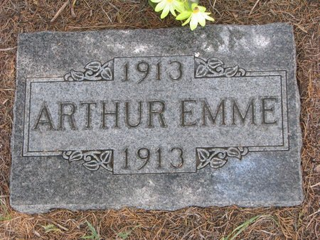 EMME, ARTHUR - Gregory County, South Dakota | ARTHUR EMME - South Dakota Gravestone Photos