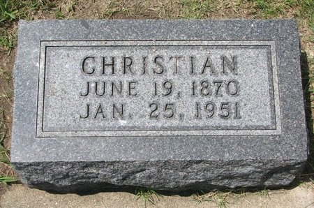 FRASCH, CHRISTIAN - Gregory County, South Dakota | CHRISTIAN FRASCH - South Dakota Gravestone Photos