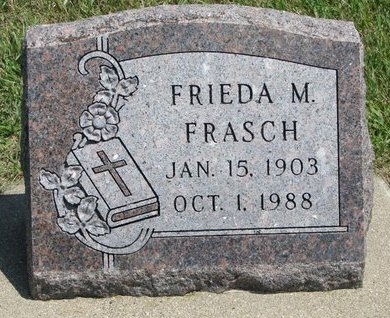 FRASCH, FRIEDA M. - Gregory County, South Dakota | FRIEDA M. FRASCH - South Dakota Gravestone Photos