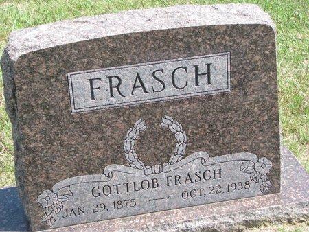 FRASCH, GOTTLOB - Gregory County, South Dakota | GOTTLOB FRASCH - South Dakota Gravestone Photos