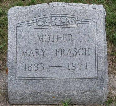 HERMANN FRASCH, MARY - Gregory County, South Dakota | MARY HERMANN FRASCH - South Dakota Gravestone Photos