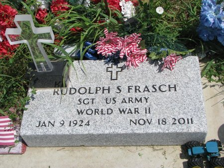 FRASCH, RUDOLPH S. - Gregory County, South Dakota | RUDOLPH S. FRASCH - South Dakota Gravestone Photos